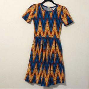 LuLaRoe Print Dress